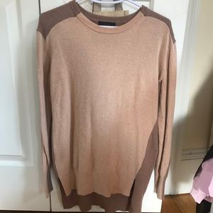 J. Crew two-toned sweater